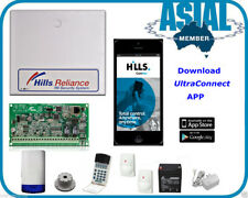 DAS/Hills Alarm System NX8/R8 Kit with Monitoring Module ComNav S2096A MobileApp