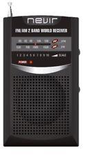 Radio bolsillo Nevir NVR-136 negro