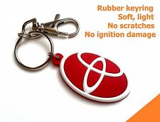 Better keyring for TOYOTA key chain Corolla Hilux Rav4 - light, soft, flexible