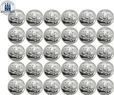30 x China 10 Yuan Silber 2009 Stgl. Großer Panda Original Cheet eingeschweißt