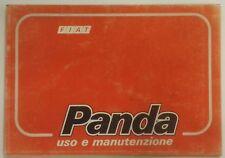 LIBRETTO USO E MANUTENZIONE FIAT PANDA - 1990 [*NC4]