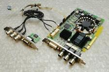 DVS Lucy Centaurus II HD/SD SDI In/Out DVI RMT PCI-e Video Capture Card & Cables