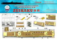 Shipyard 1/700 700038 Wood Deck IJN Zuikaku for Fujimi