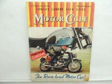 Nov 1960 The Motorcycle Magazine AJS Triumph Norton BMW Maico Lambretta L12053