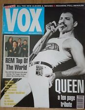 VOX Magazine February 1992 (QUEEN, Lour Reed & REM)