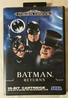 Batman Returns SEGA Mega Drive 1992 Action / Beat 'em Up [w/ Manual]