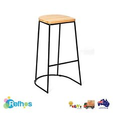 Bar Stool Wooden And Metal