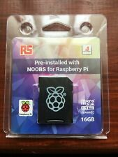 Raspberry Pi 16GB Micro SD Card Pre-Installed with NOOBS
