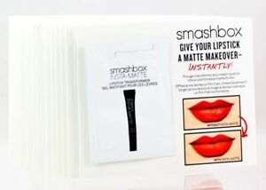 Smashbox Lip Mattifying Gel 24 Samples .05oz 1.5ml each