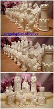 große Ritter 13 cm  roh Schachfiguren . Schach Schachspiel   mittelalter