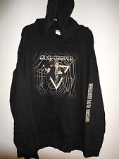NEW - ALICE COOPER BAND / CONCERT PULLOVER HOODIE SWEATSHIRT EXTRA LARGE