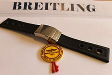 100% Genuine New Breitling Black Ocean Racer Deployment Strap and Clasp 24-20mm