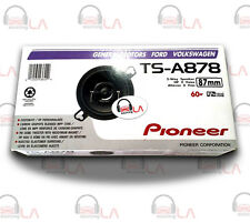 "Pioneer TS-A878 3.5"" 3-1/2"" 120 Watt 2-Way Custom Fit Car Audio Speakers TSA878"