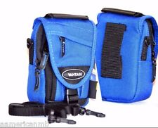 BLUE Vantage Condura Photo Camera Case Neck Bag Nylon Weather Tears Resistant