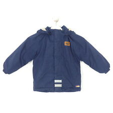 LEGO WEAR Outdoor Winter Jacke Kapuze Blau Gr. 104 Blau
