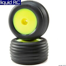 Losi 41010 Directional Tires Front Mounted Yellow: Mini-T 2.0