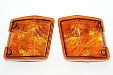 VW Transporter Bus 1980-1992 T3 Amber CORNER LIGHTS Turn Signals PAIR