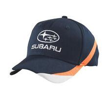 SUBARU Tri Color Cap Hat Genuine Sti Rally Racing WRX Sti Impreza Forester New +