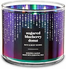 Bath & Body Works Sugared Blueberry Donut 3-Wick Candle