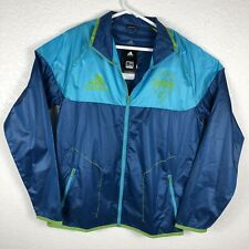 Adidas Seattle Sounders Win Sweat Jersey Climaproof  packable NWT   C300