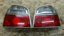 Vw golf 3 GTI feux arrières en verre clair feux arrière lumière feux rouge blanc chrome