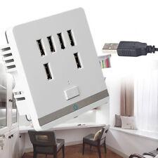3.4A De La Placa De Salida Puerto USB 6 Cargador De Pared Cambiar Enchufe