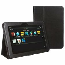 "Smart Flip Leather Stand Case for Amazon Kindle Fire HD 8.9"" 8.9 Inch - Black"