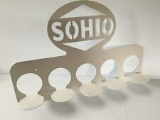Vintage SOHIO Motor Oil Can Display Rack - Gas & Oil Minty nice