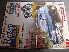 µ? Revue Retro Hebdo n°3 Simca Aronde commerciale Terrot 125 EP F1 Token 74