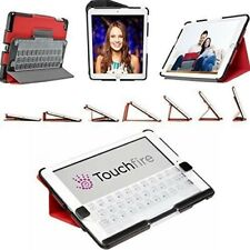 Touchfire Red Ultra-Protective Case 3D Keyboard Apple iPad Air 2 TF-1731-BK-RD