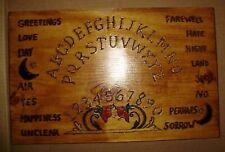 """hand made wooden ouija spirit talking board """"antique design"""""""