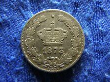 ROMANIA 50 BANI 1873, KM9