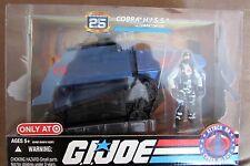 GI Joe 25th Anniversary Cobra H.I.S.S. Tank With Cobra Driver Target Blue NIB