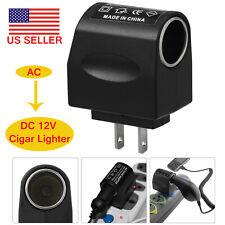 110V-240V AC Wall Power To 12V DC Car Cigarette Lighter Converter Socket Adapter