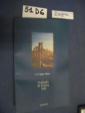 C.A. Sainte Beuve VIAGGIO IN ITALIA 1839 (51 D 6)