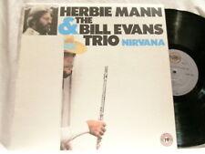 HERBIE MANN & BILL EVANS Nirvana Paul Motian LP
