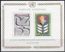 Vereinte Nationen - Wien Nr. 12B-13B** (Bl. 1**) - 35 Jahre UNO