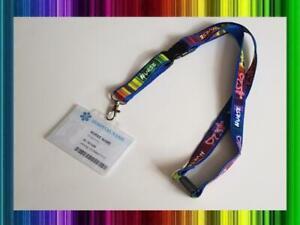 NURSE Heroes Lanyard Rainbow Fuse Neck Strap for Keys ID Card Holder 20mm 52cm