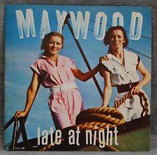 MAYWOOD - LATE AT NIGHT - VINILO SINGLE