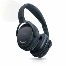 Photive Bth3 Over-The-Ear Wireless Bluetooth Headphones With Built-In Mic New
