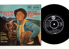"WAGON TRAIN + 3 TV THEMES.UK ORIG ""R/C"" 7"" EP & PIC/SLEEVE.EX/EX"