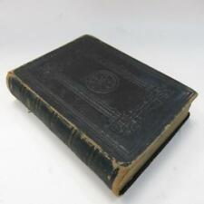 Antique Holy Bible - British & Foreign Bible Society - Leather - Presented 1889