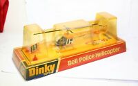 Dinky 732 Bell Police Helicopter In Its Original Box - Near Mint Vintage