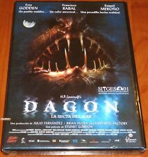 DAGON La secta del mar -DVD R2- English Gallego Catalan Español - Precintada