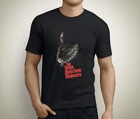 The Texas Chainsaw Massacre Horror Movie Poster Men's Black T-Shirt Size S-5XL