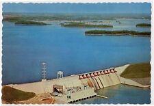 LAKE NORMAN NC early Cowan's Ford Dam z postcard