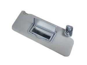 2011-2014 Ford F150 Right RH Passenger Side Sun Visor Gray Cloth With Mirror