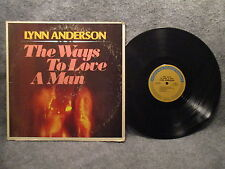 33 RPM LP Record Lynn Anderson The Ways To Love A Man 1973 Columbia 1P 6034 EXC