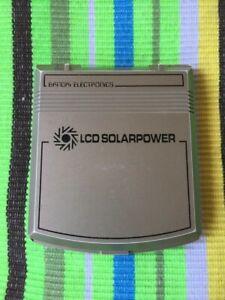 Bandai electronics Lcd game solarpower SHARK ISLAND - RARE!