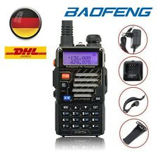 BaoFeng UV-5R PLUS Dual Band V/UHF 2m/70cm Walkie Talkie Hand Funkgeräte DE